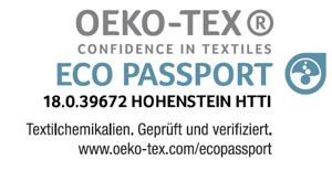 OEKO-TEX Eco Passport 18_0_39672 DE