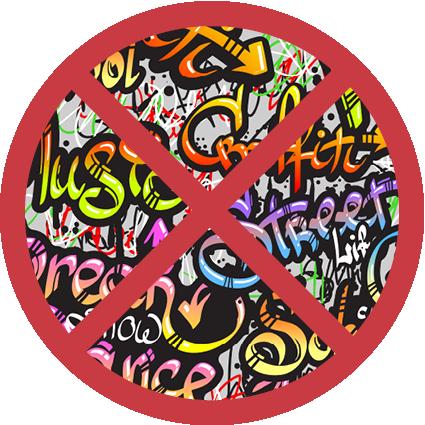 Graffitischutz Graffiti-Entfernung