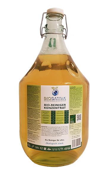 CCM Biosativa 5-Liter Glasflasche