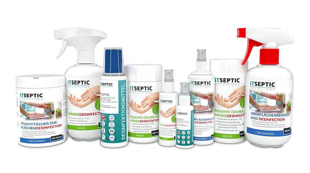 ITSEPTIC Desinfektionsprodukte