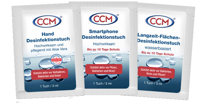 CCM Wipes for Disinfection