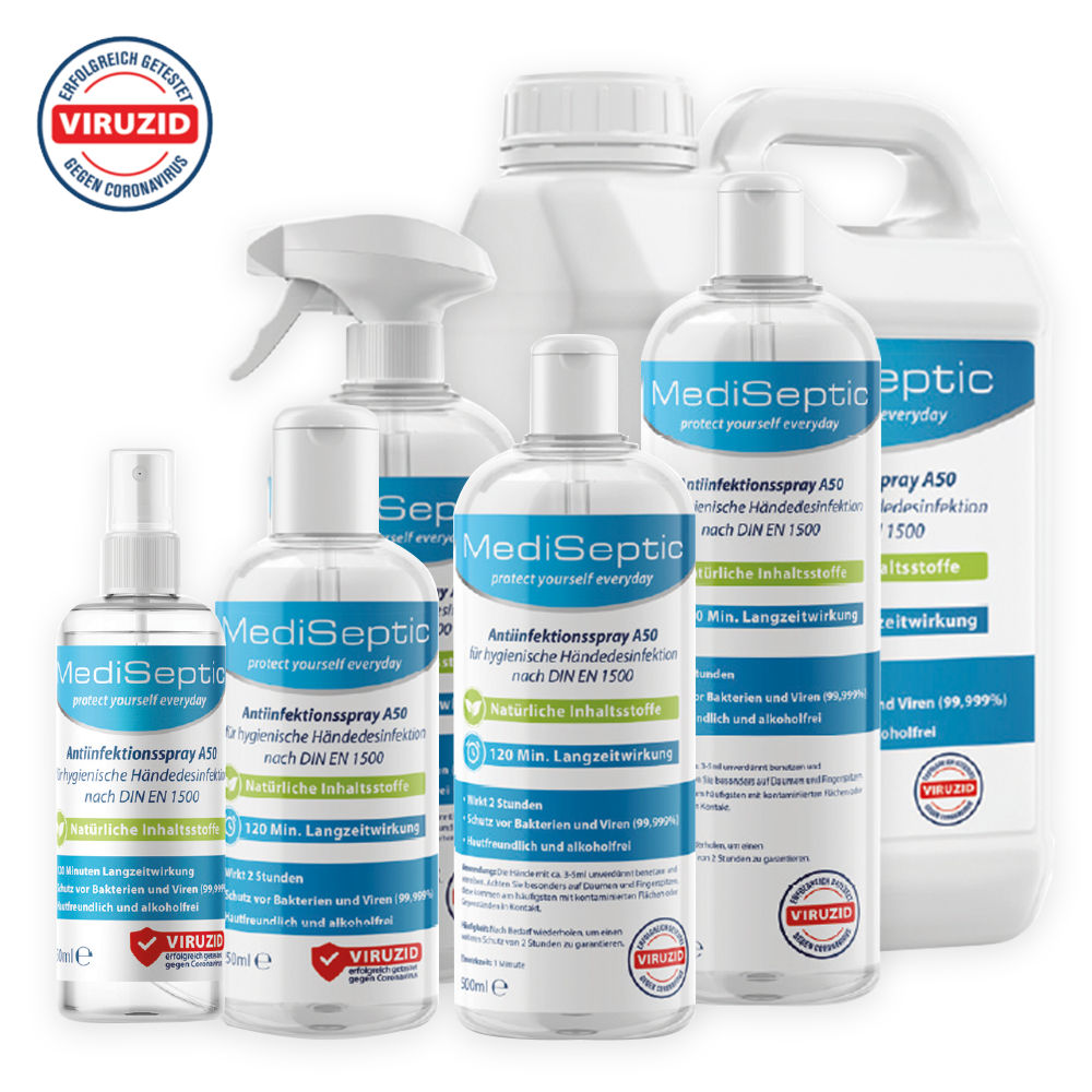 MediSeptic Produktpalette