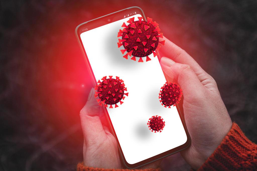 Handy-Bakterienschutz