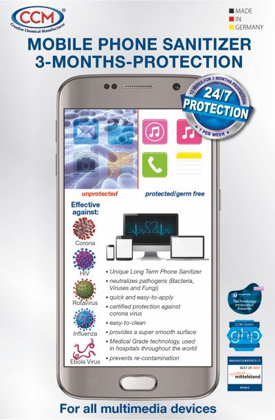 Mobile Phone Sanitizer by CCM
