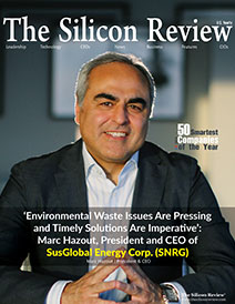 The Silicon Review: Cover for 50 Smartest Companies 2021