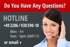 CCM-HOTLINE: +49 2206 / 938 590-10